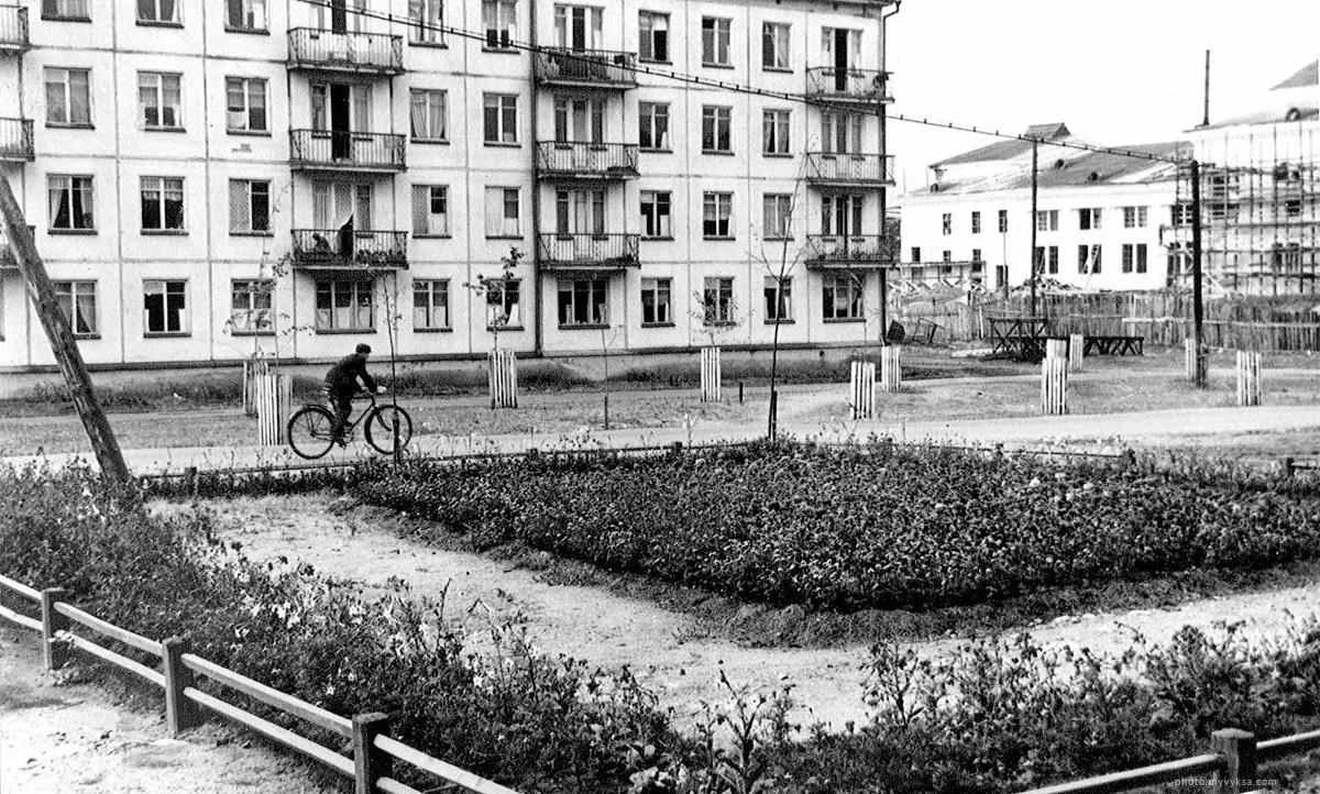 Улица Красных Зорь. Выкса — фото старой Выксы