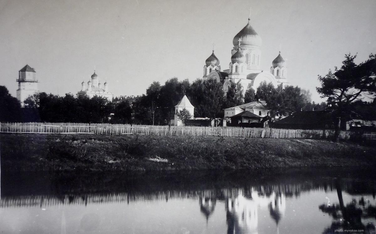 Выксунский Иверский женский монастырь. Начало XX века.