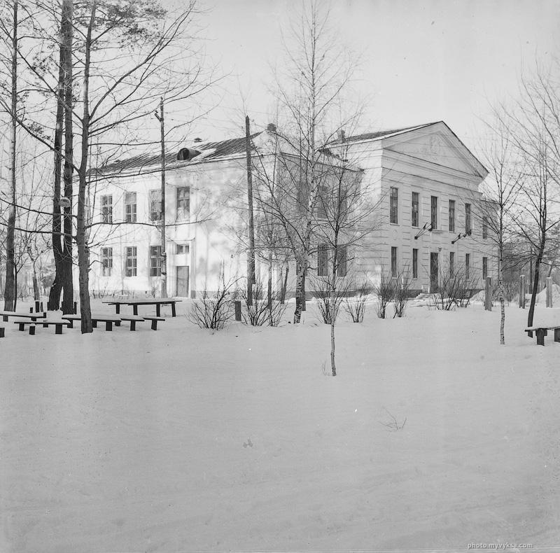 Школа рабочей молодежи. Выкса — фото старой Выксы