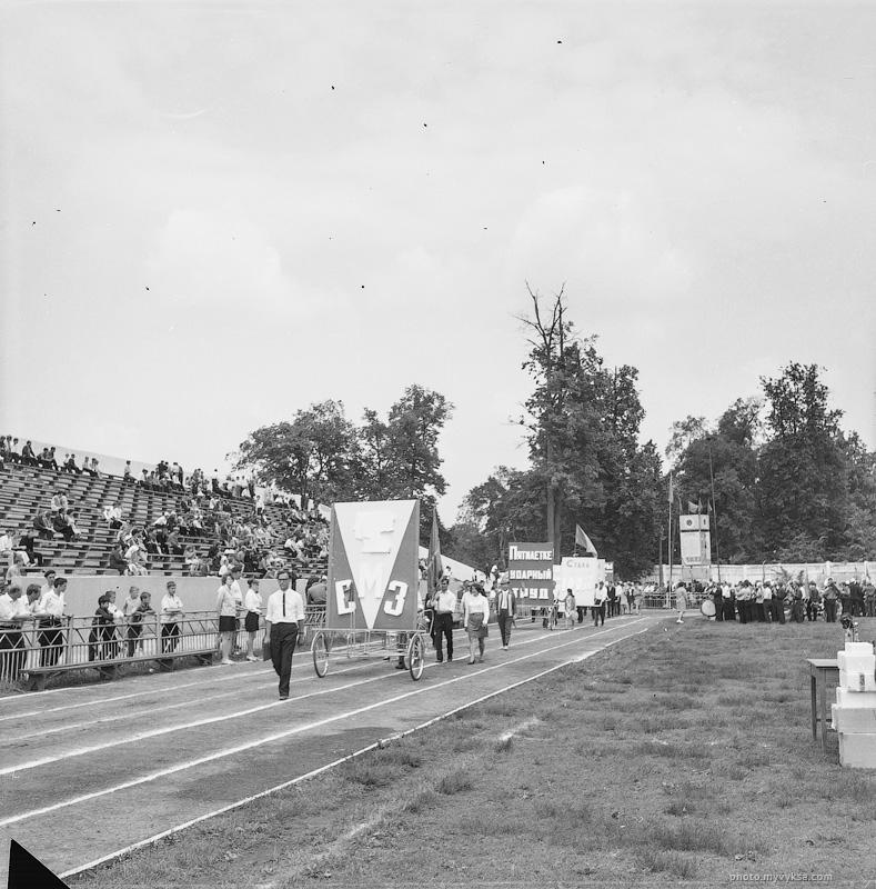 Демонстрация на стадионе «Металлург». Выкса