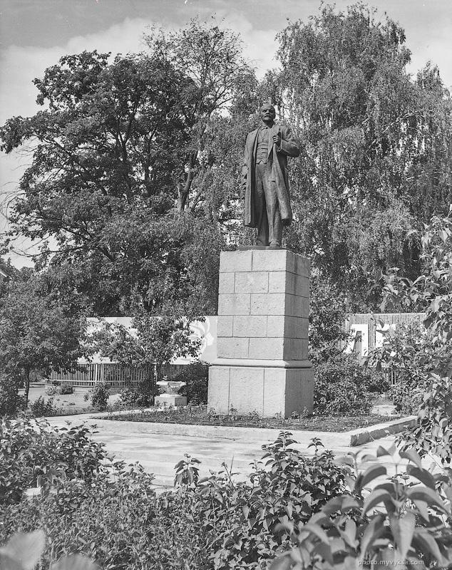Памятник Ленину. Выкса