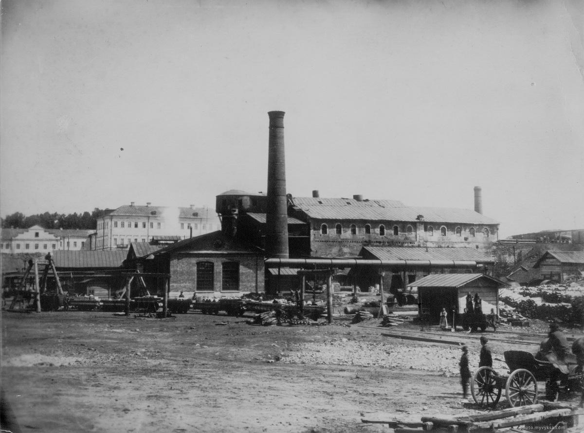 Выксунский железоделательный завод