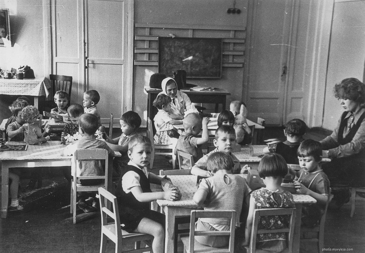 В группе детского сада №2. Выкса