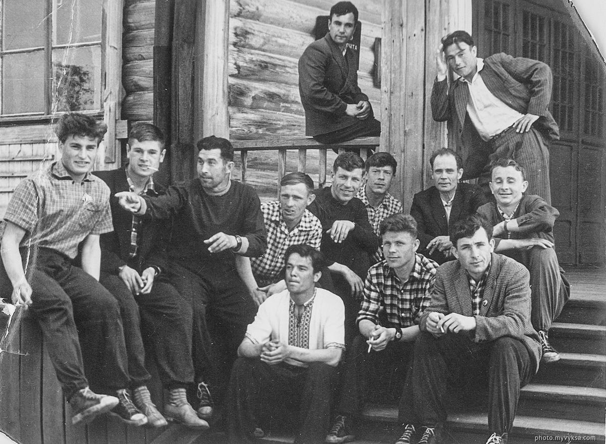 Футбольная команда ДРО. Выкса — фото старой Выксы