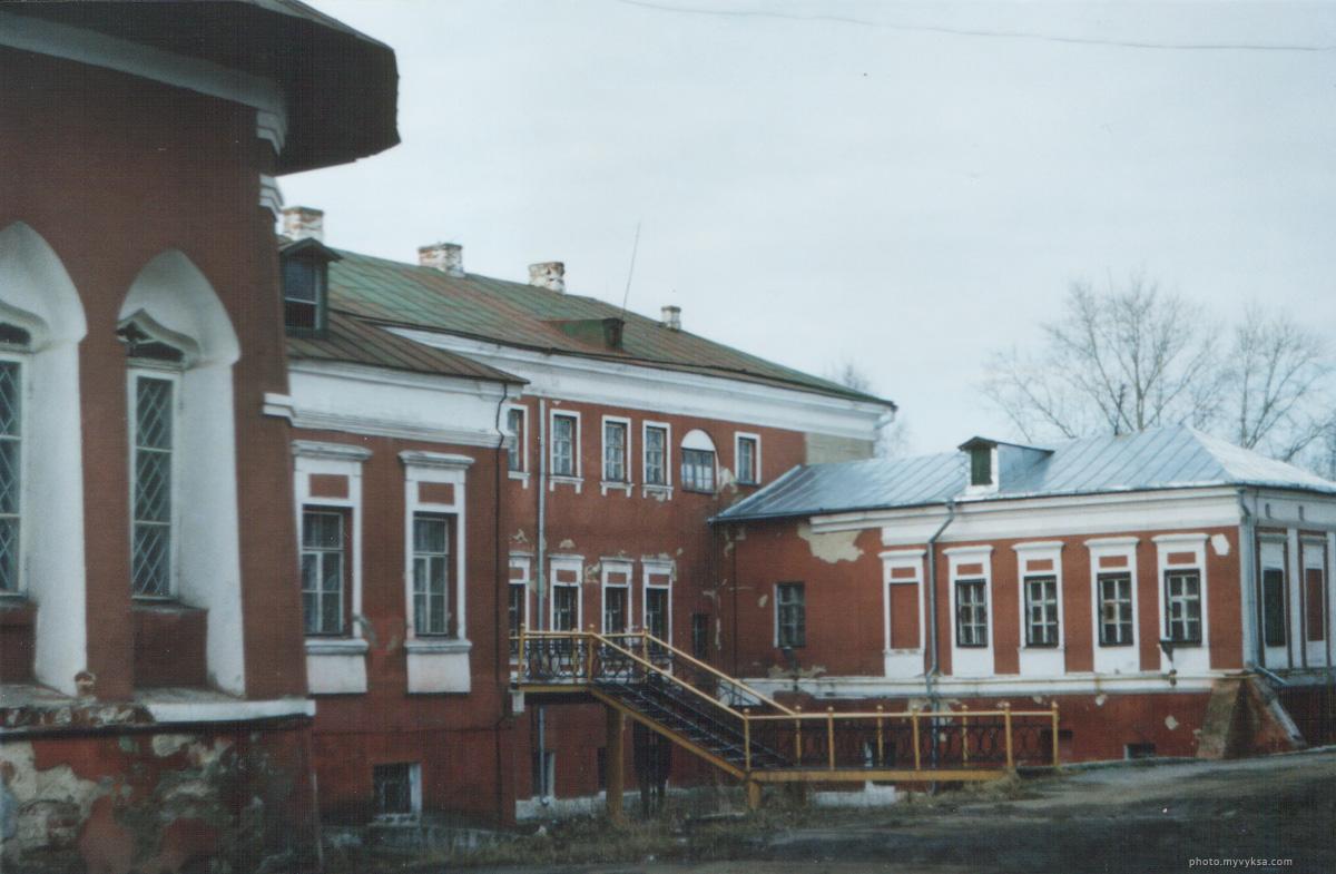 Дом Баташевых до реконструкции. Выкса.