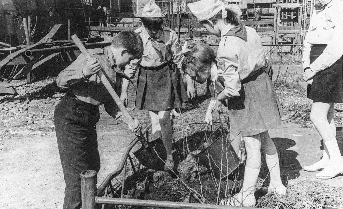 Пионеры в свободное время. Выкса — фото старой Выксы