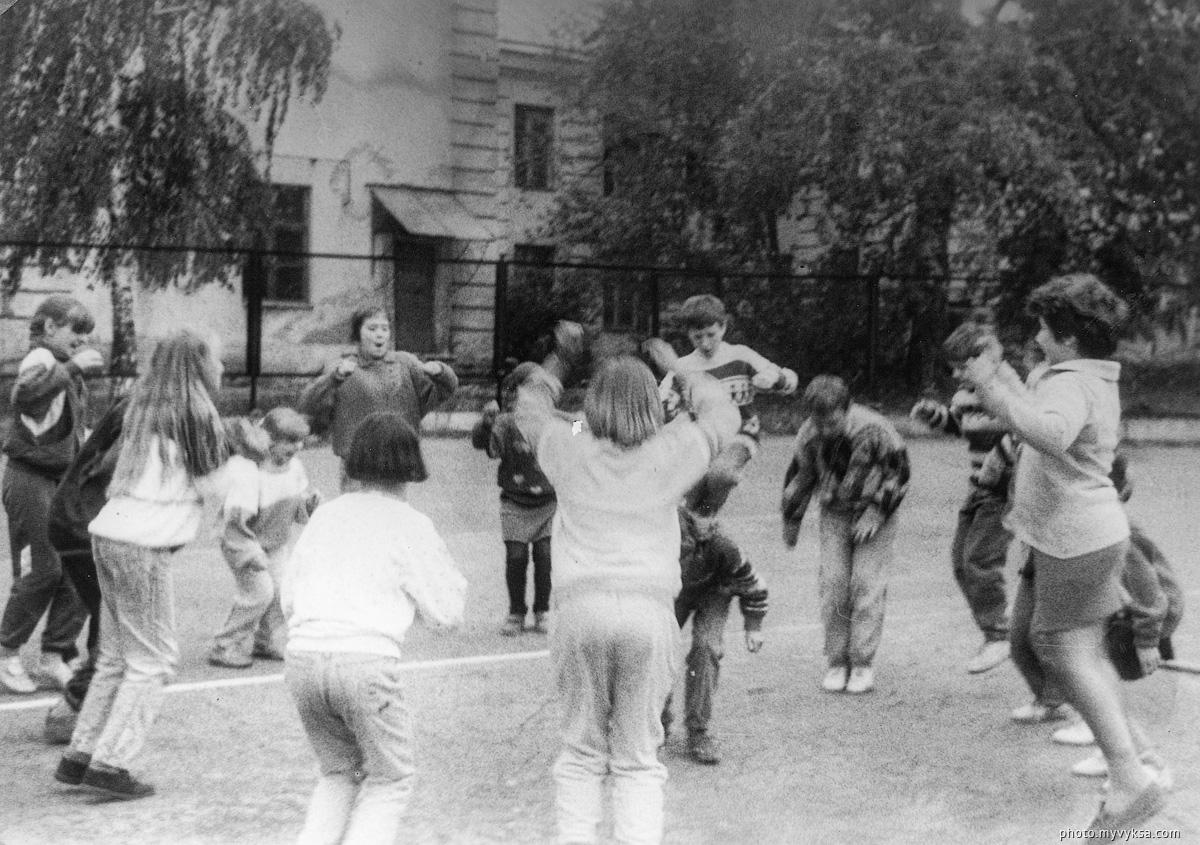 Городской летний лагерь в ДТЮ — фото старой Выксы
