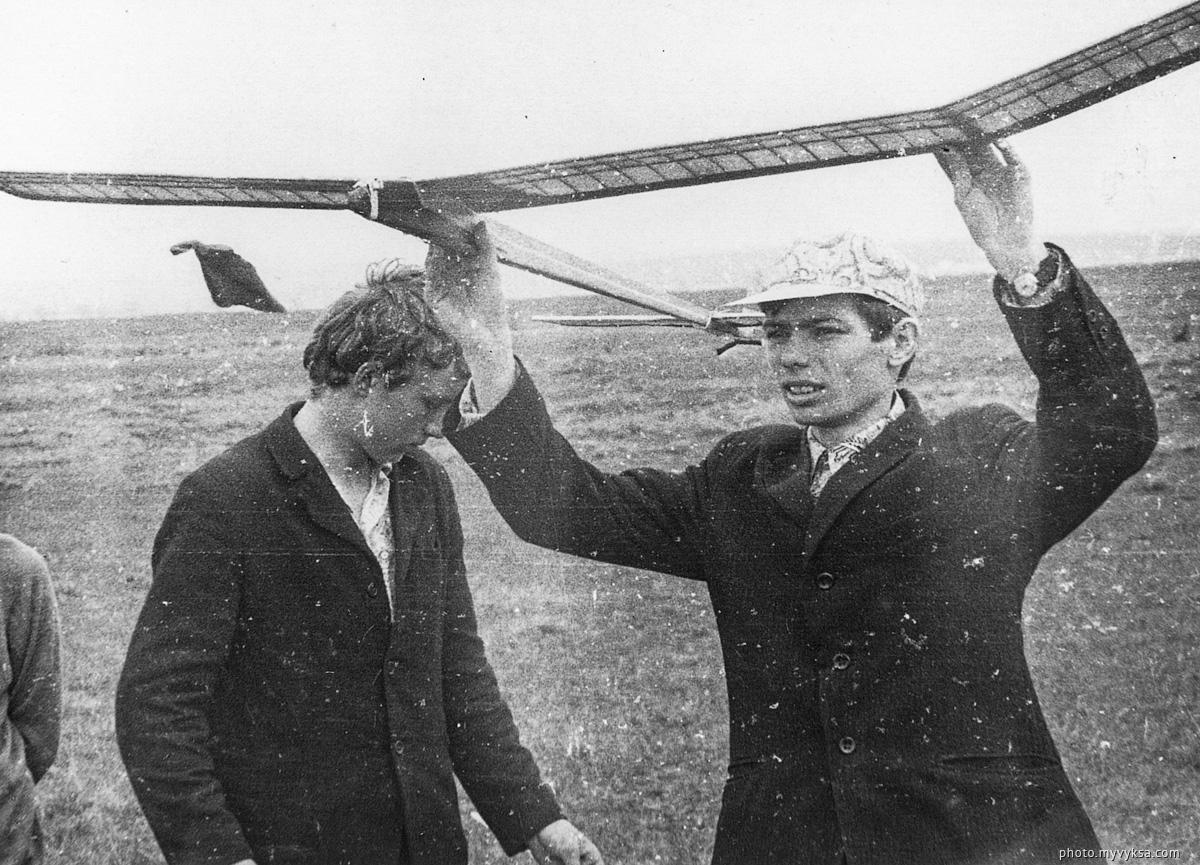 Городские соревнования авиамоделистов — фото старой Выксы