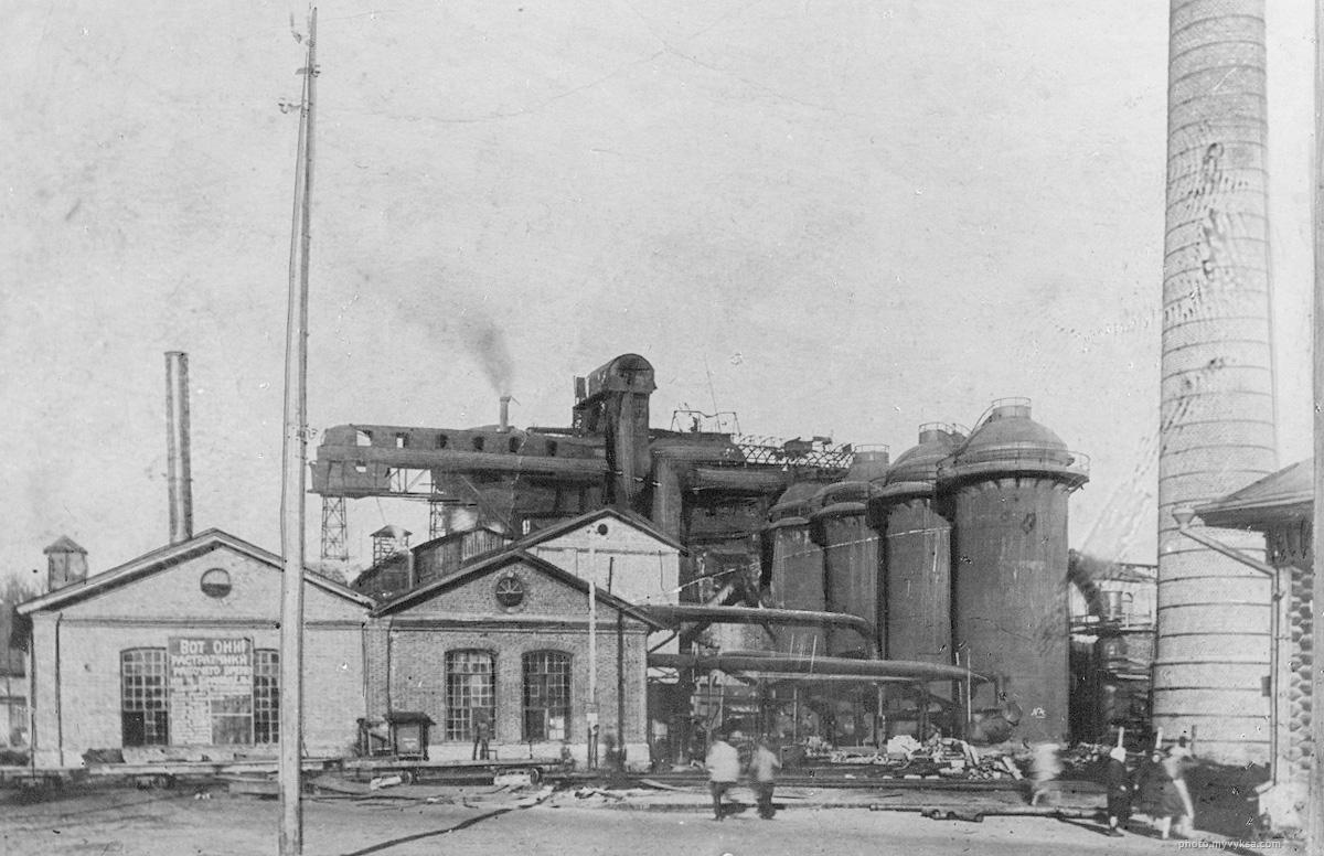 Старый мартеновский цех на Верхнем заводе. Выкса