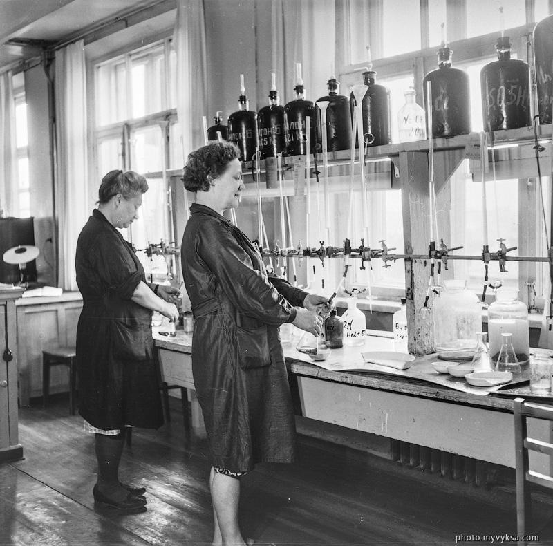 Лаборатория ВМЗ. Выкса — фото старой Выксы
