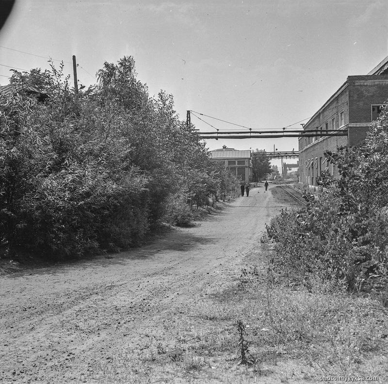 Дорога на заводе. Выкса — фото старой Выксы