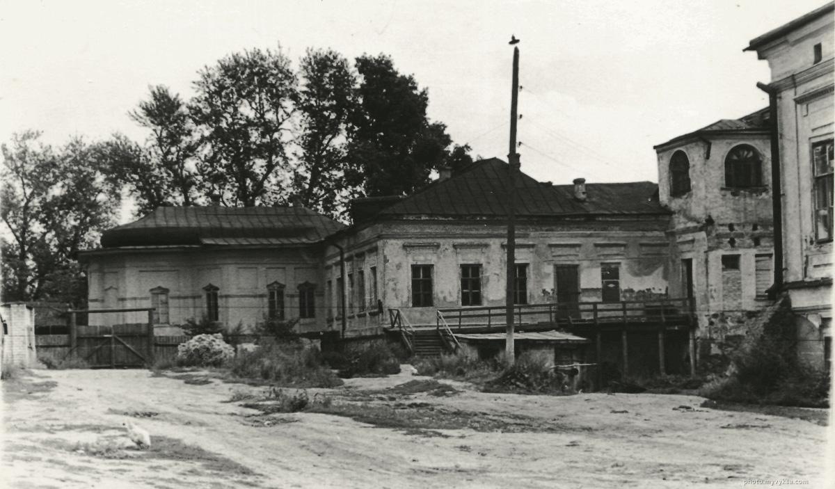 Главный дом до реконструкции