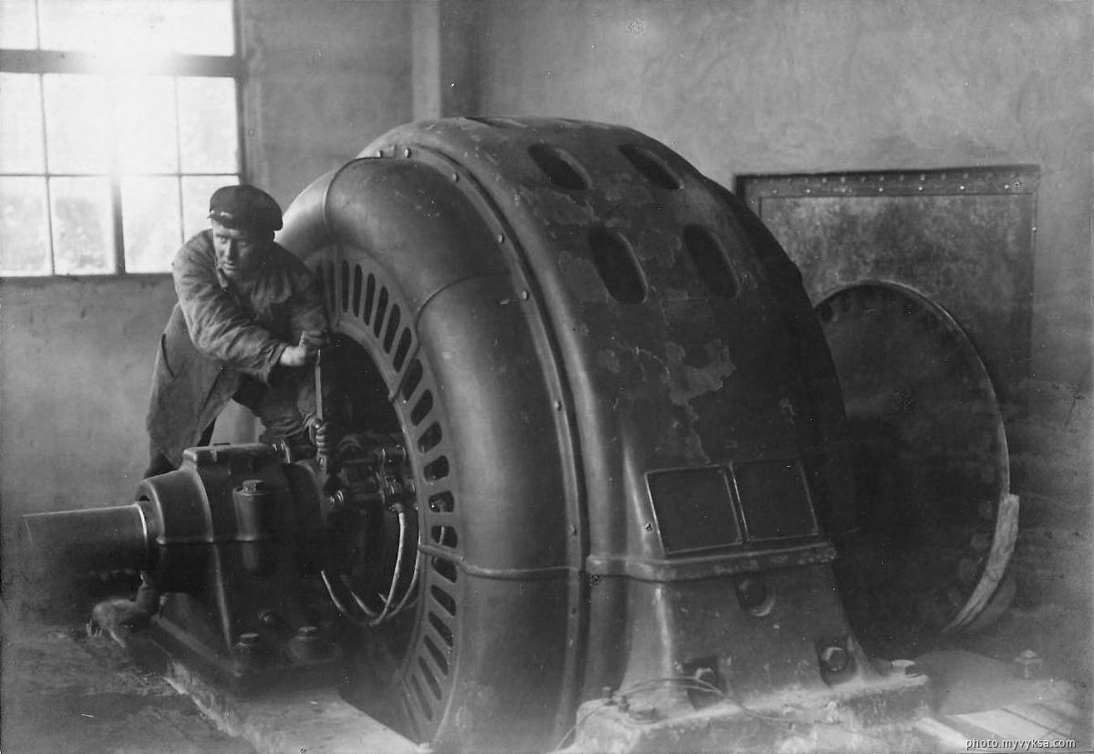 Главный мотор. Выкса — фото старой Выксы