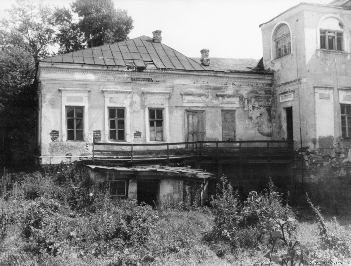 Главный усадебный дом. Выкса — фото старой Выксы
