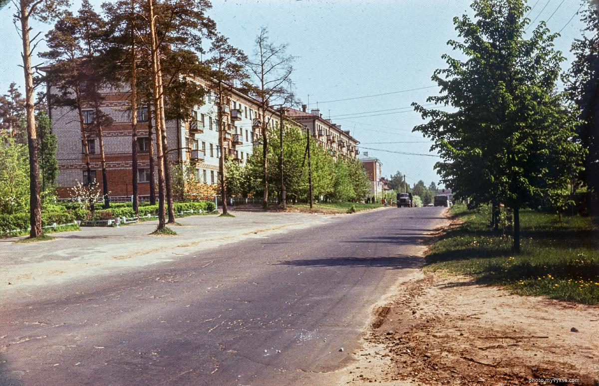 Улица Островского. Выкса