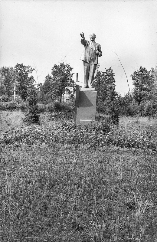 Памятник в сквере. Выкса