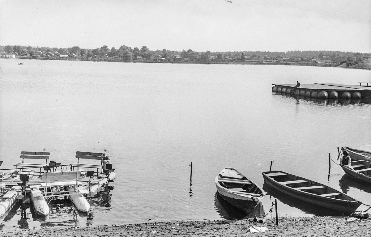 Лодки на Верхнем пруду. Выкса