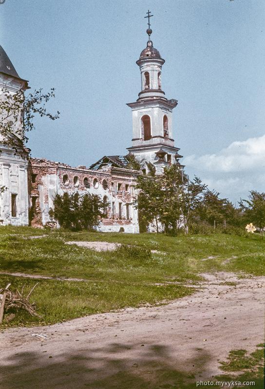 Христорождественская церковь. Выкса — фото старой Выксы