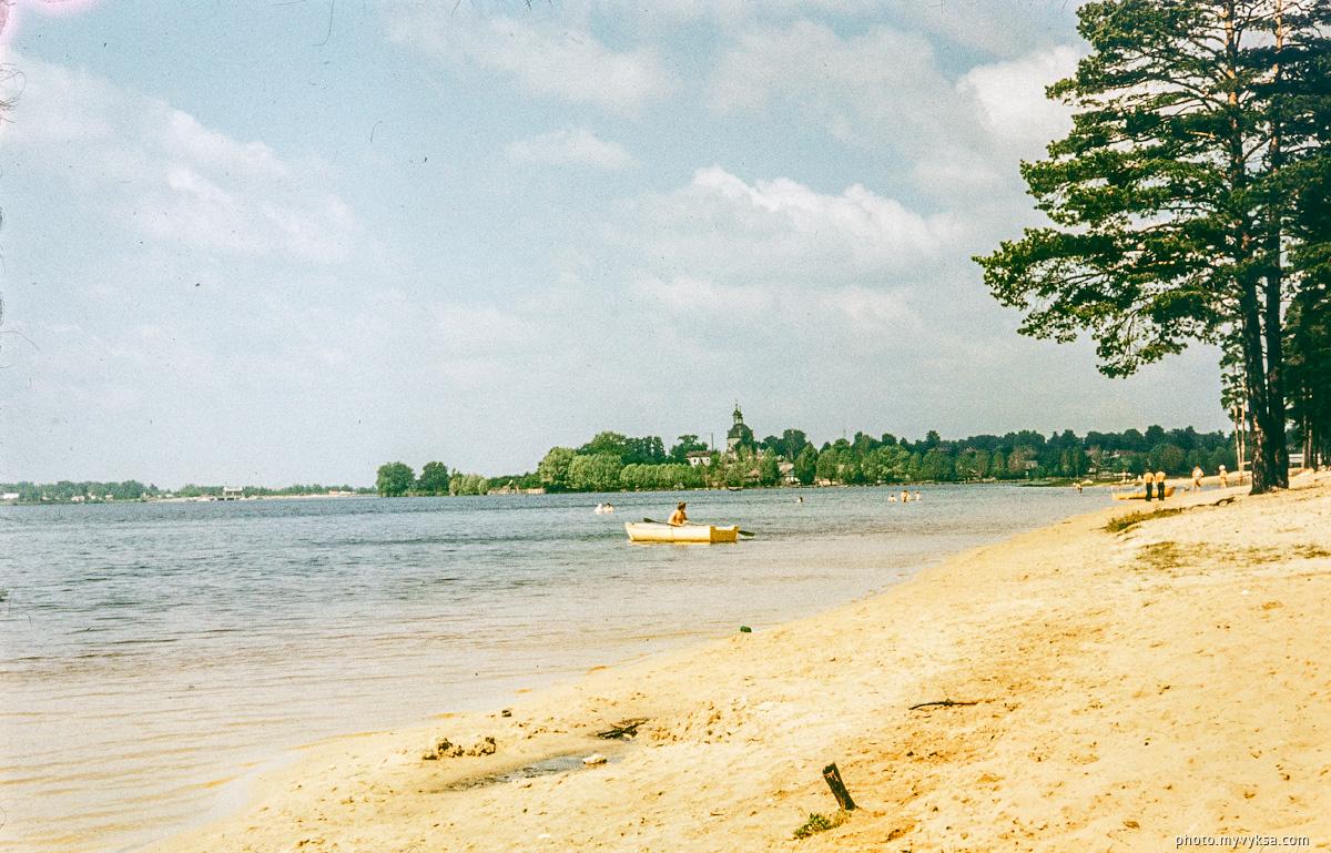 На пляже. Выкса — фото старой Выксы