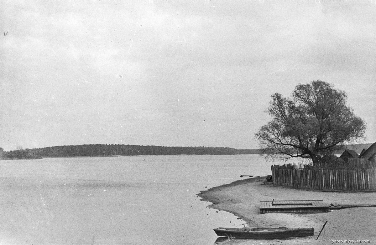 Верхний пруд. Выкса — фото старой Выксы