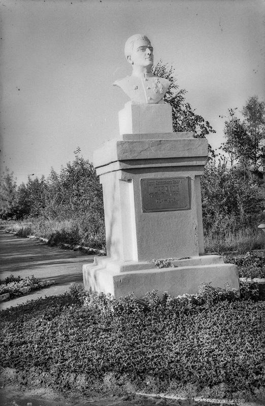 Памятник Щербакову. Выкса