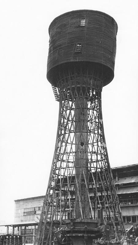 Шуховская башня. Выкса — фото старой Выксы