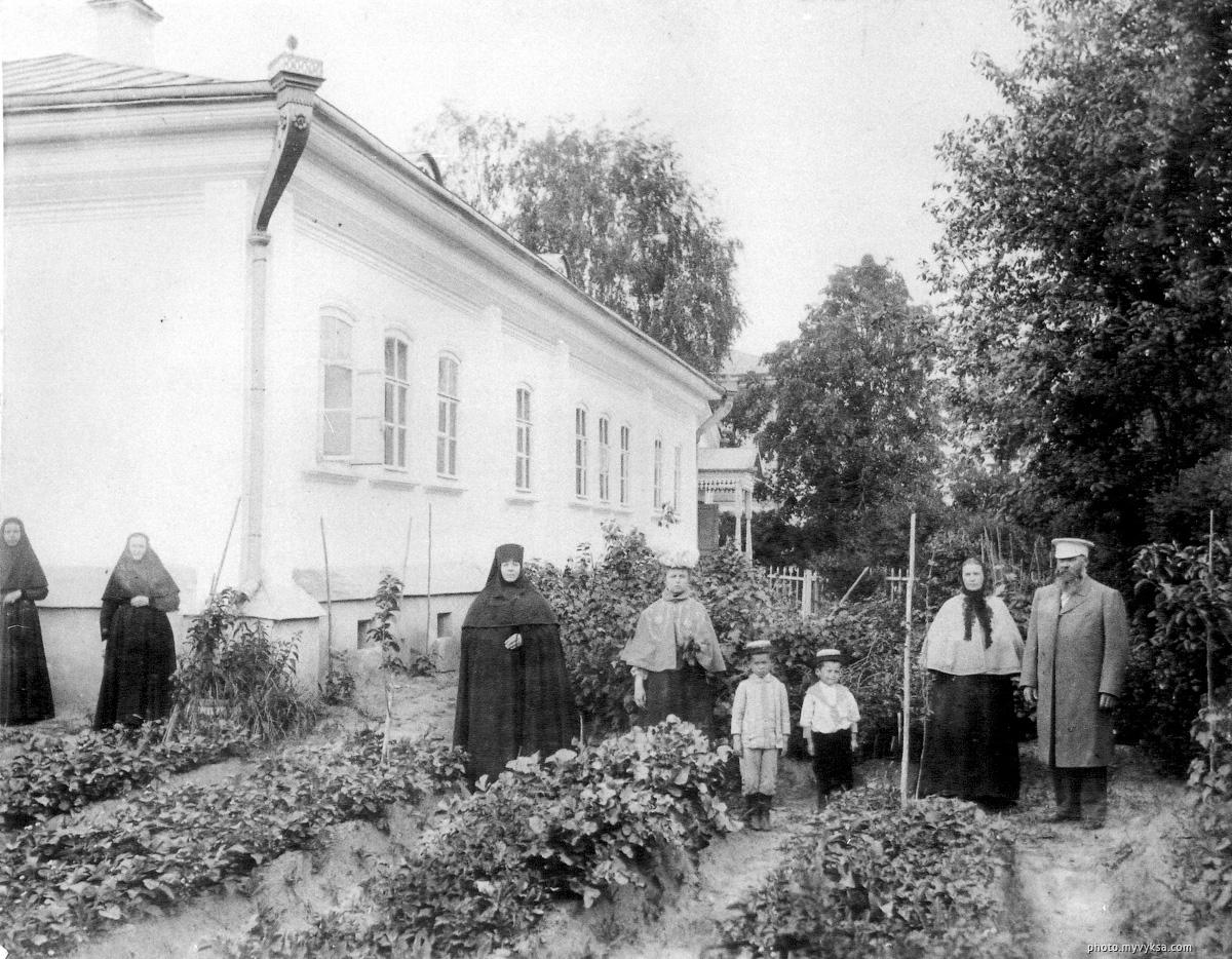 Жилой корпус. Иверский выксунский женский монастырь. Выкса