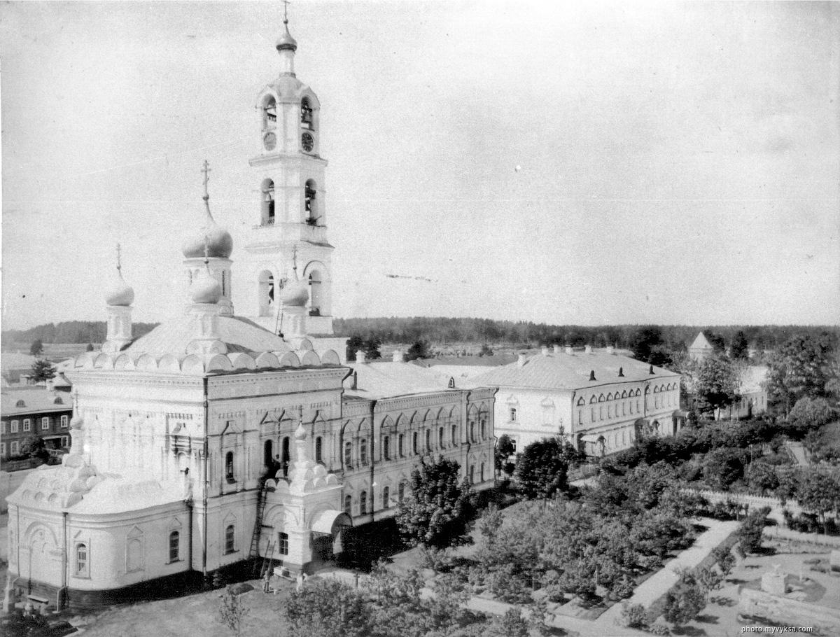 Успенская церковь. Иверский выксунский женский монастырь. Выкса