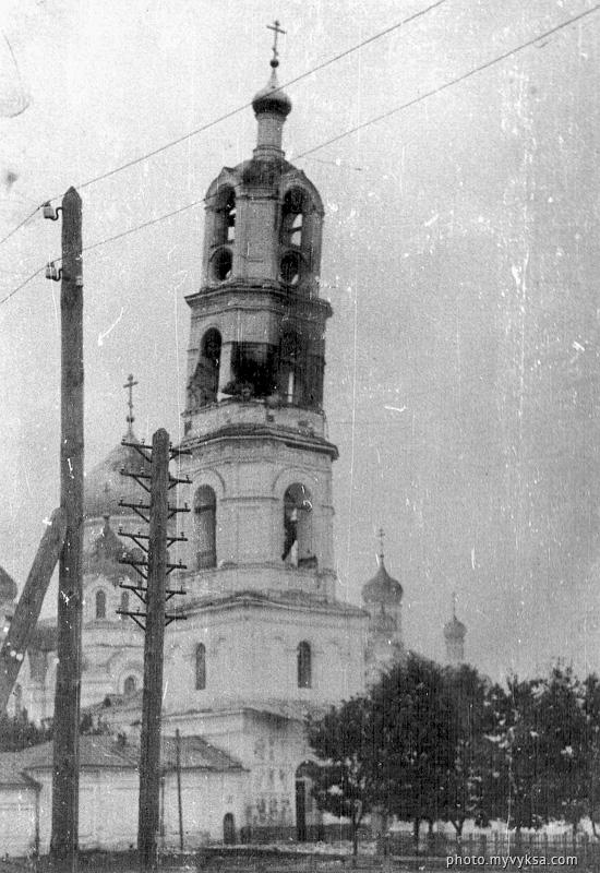 Колокольня Иверского монастыря. Выкса
