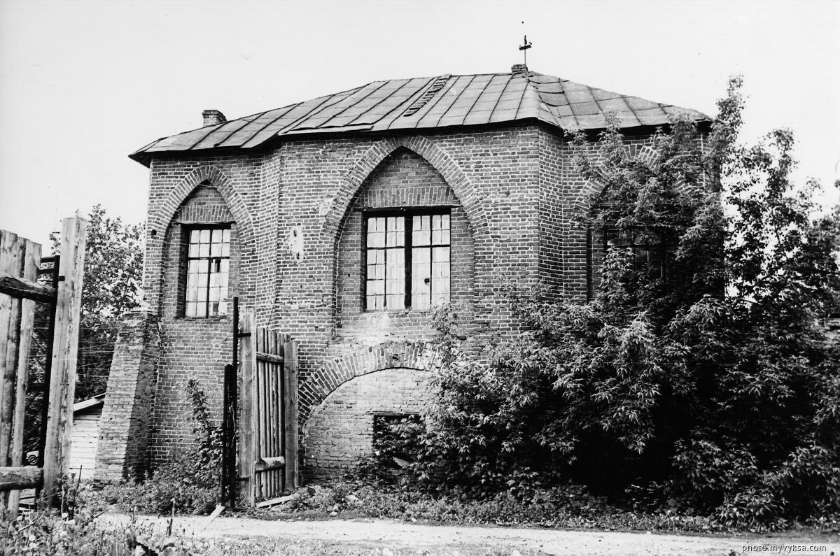 Здание конного двора. Выкса — фото старой Выксы