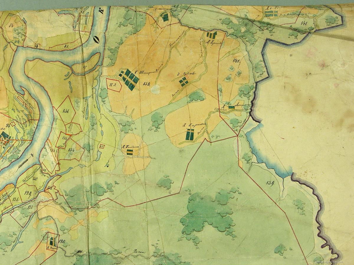 Шиморское, Грязная, Борковка, Тамболес, Антоповка — фото старой Выксы