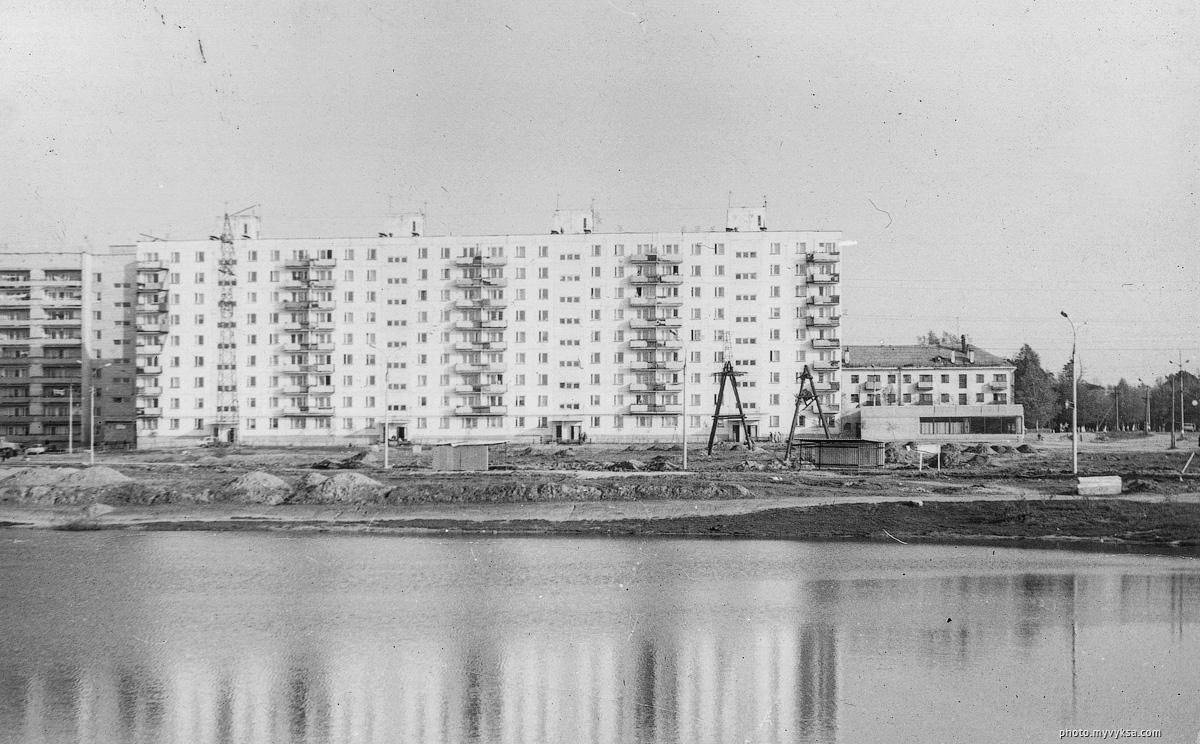 Улица Пушкина. Выкса — фото старой Выксы