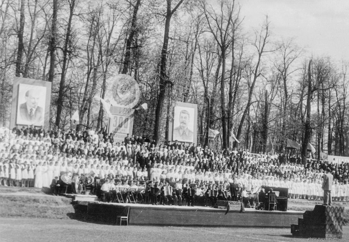 300-летие воссоединения Украины с Россией. Выкса
