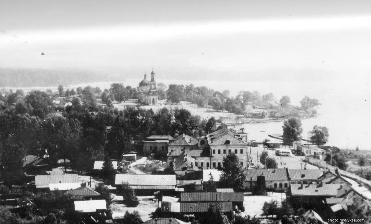Верхняя Выкса — фото старой Выксы