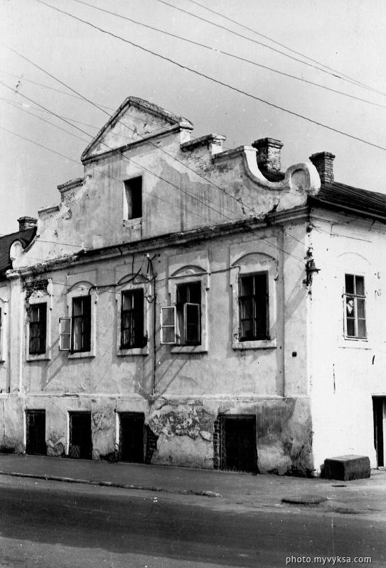 Здание заводских контор. Выкса — фото старой Выксы