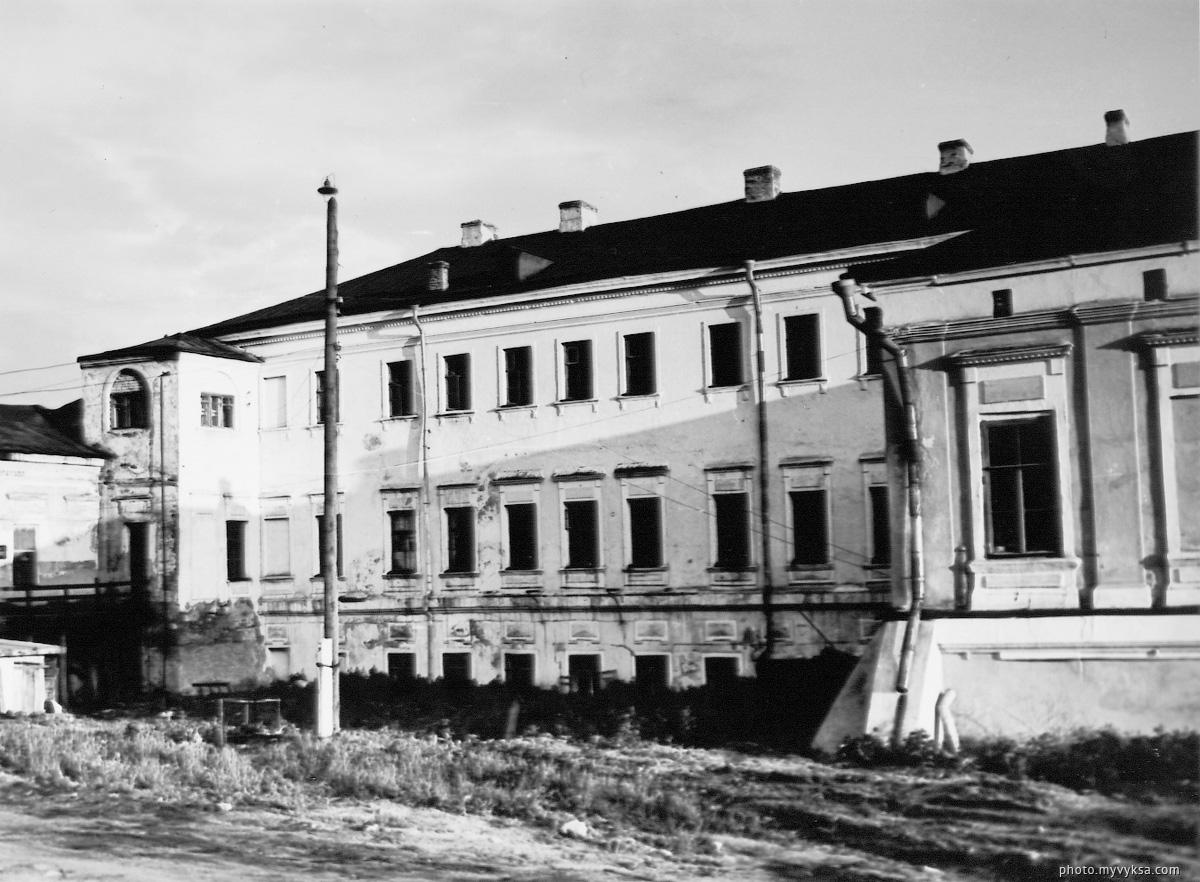 Главный дом со стороны парка. Выкса — фото старой Выксы
