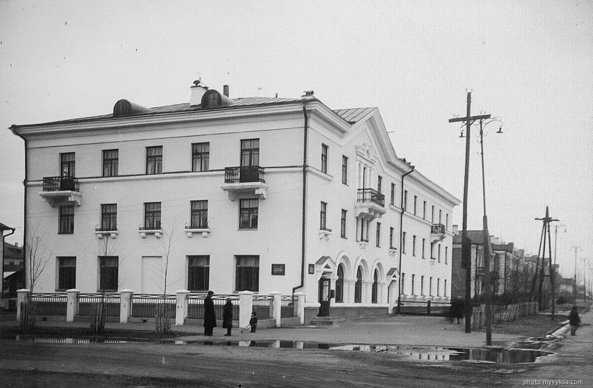 Дом на Комсомольской площади. Выкса