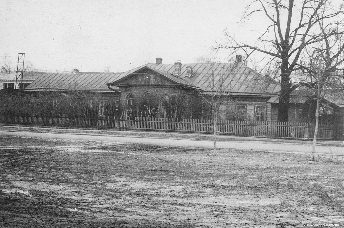 Здание на Красной площади. Выкса. — фото старой Выксы
