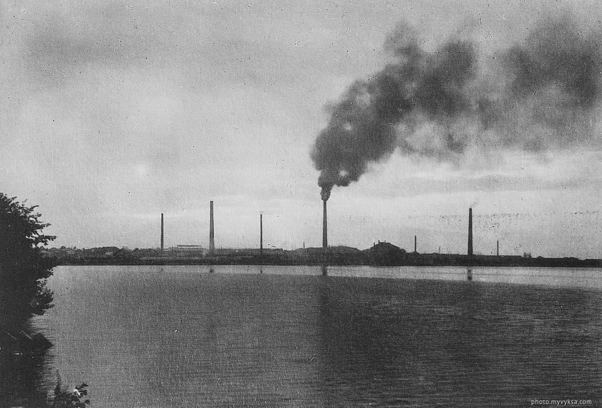 Панорама завода. Выкса