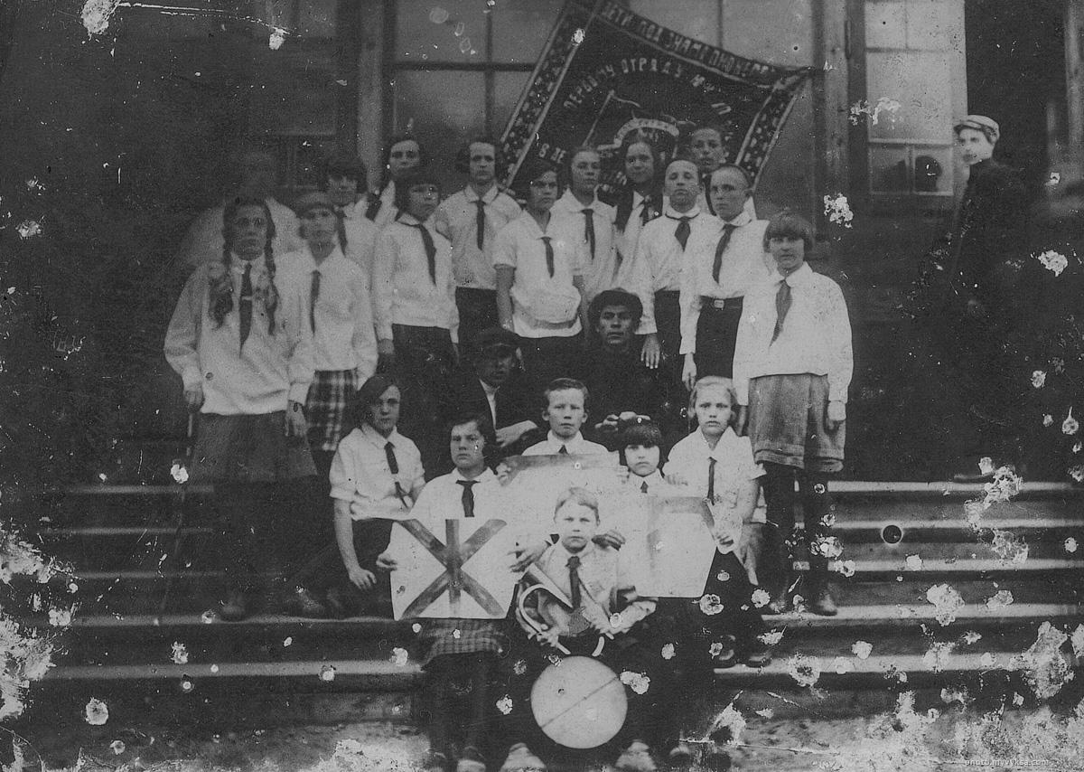 Первый пионерский отряд. Выкса — фото старой Выксы