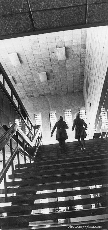 Лестница в КТ Родина. Выкса — фото старой Выксы