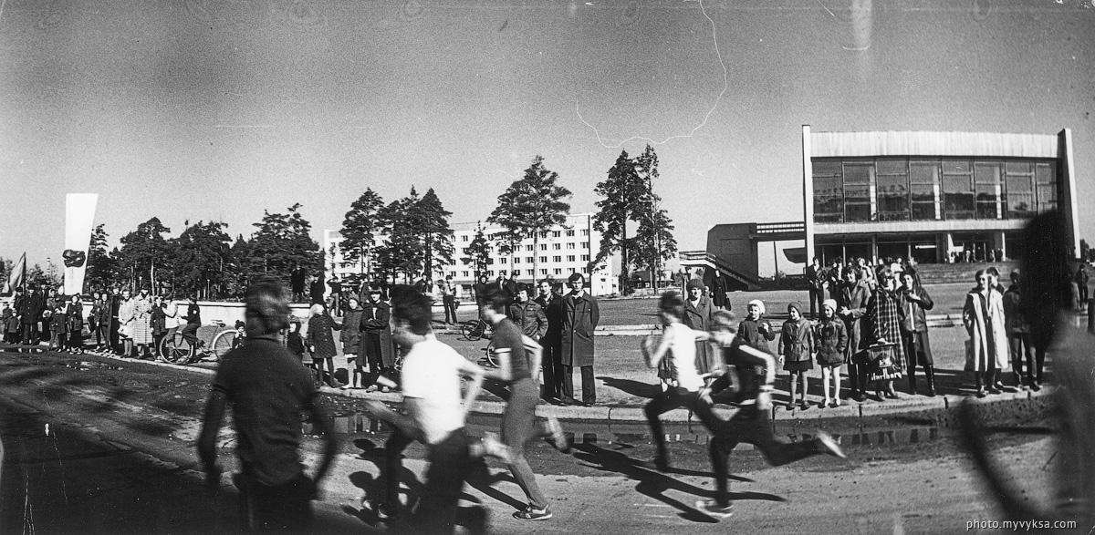 Эстафета в городе — фото старой Выксы