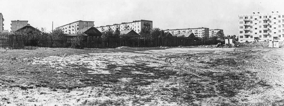 Вид на микрорайон Гоголя. Выкса — фото старой Выксы