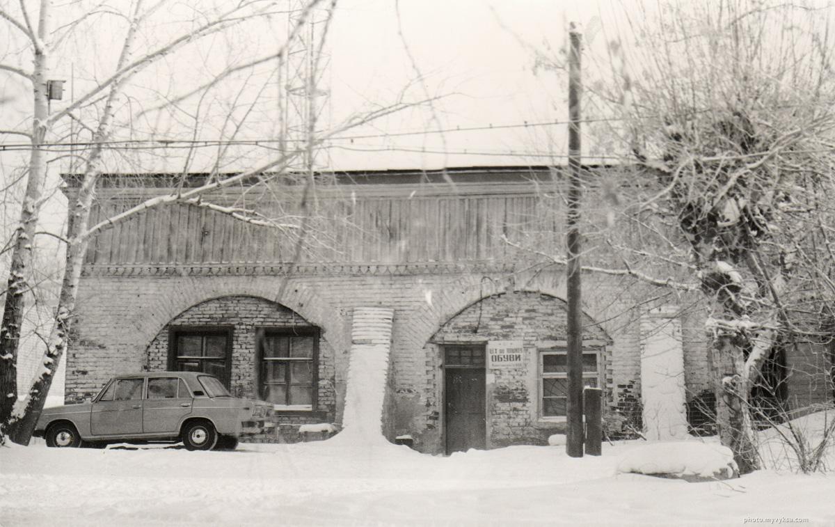 Здание старого конного двора. Выкса