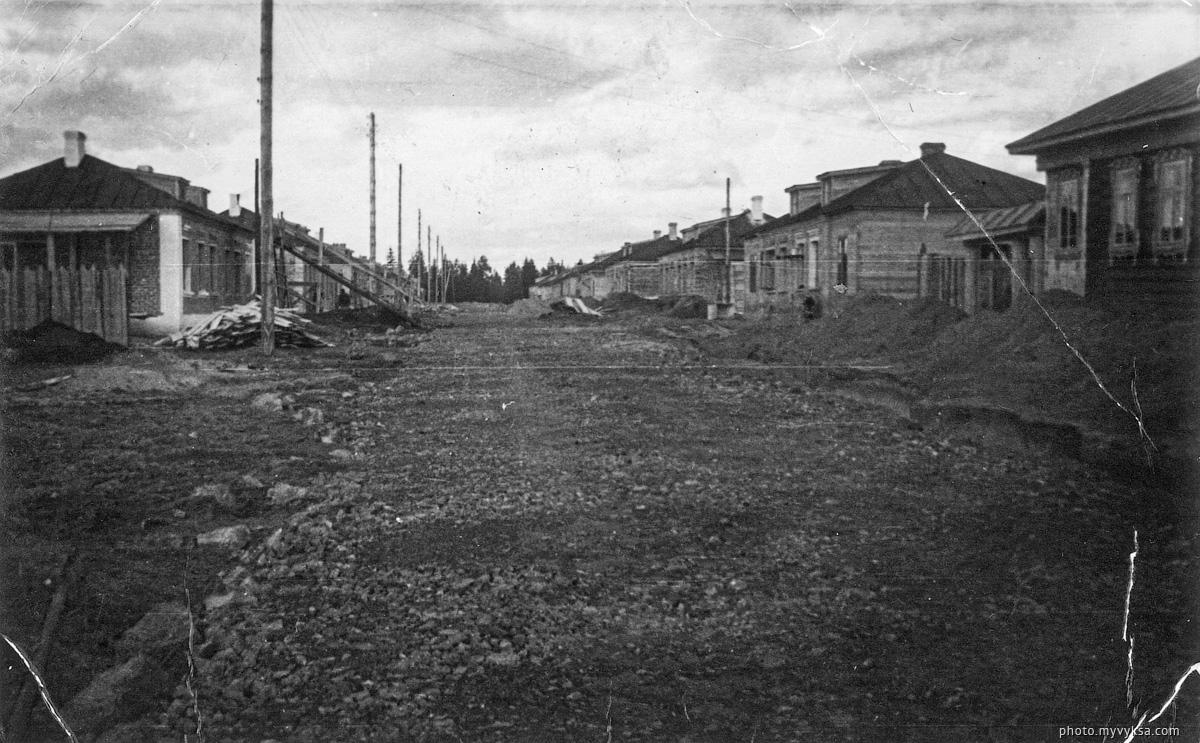Улица на Самстрое. Выкса — фото старой Выксы