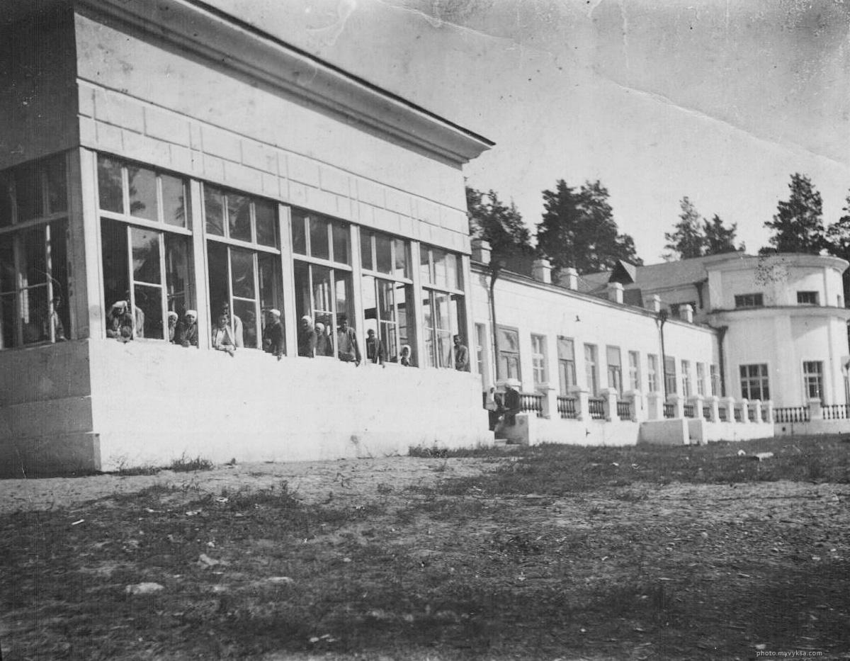 Санаторий в Шиморском. Выкса