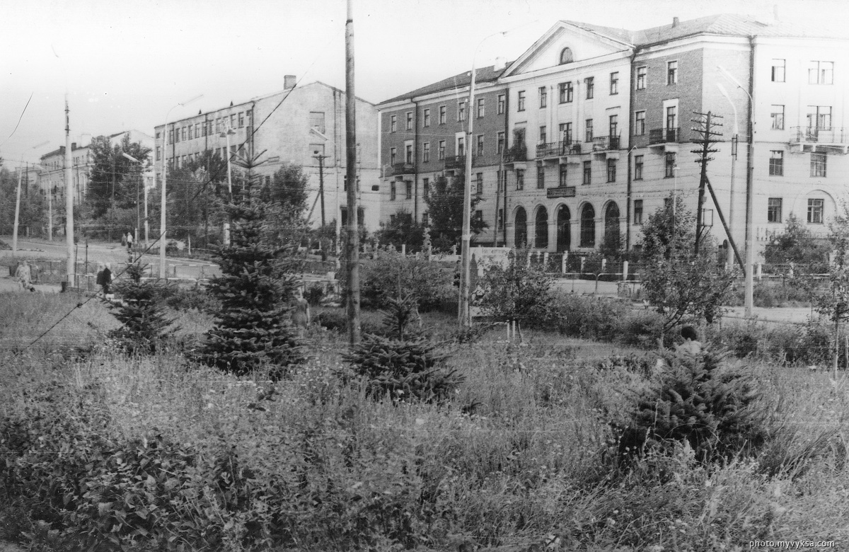 Улица Красные зори. Выкса — фото старой Выксы