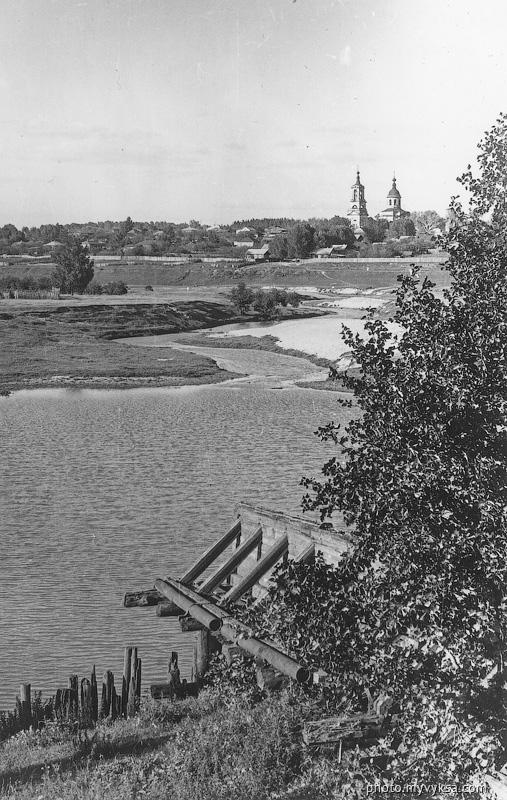 Плотина на Досчатинском пруду — фото старой Выксы