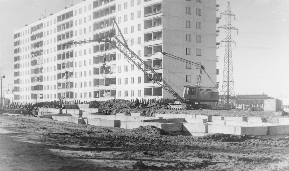 Строительство дома на ул. Пушкина. Выкса