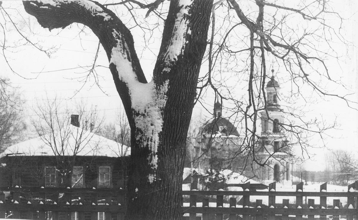 Христорождественская церковь зимой. Выкса